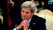 Kerry Arrives In Moscow For Syria Talks