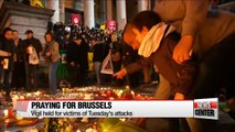 Vigil held for victims of Brussels attacks
