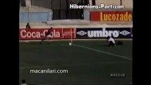 18.09.1990 - 1990-1991 UEFA Cup 1st Round 1st Leg Hibernians FC 0-3 FK Partizan