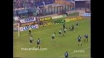 24.04.1991 - 1990-1991 UEFA Cup Semi Final 2nd Leg Inter Milan 2-0 Sporting Lisbon