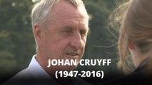 Lenda do futebol Johan Cruyff morre aos 68 anos