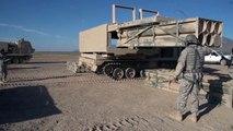 M270A1 Multiple Launch Rocket System (MLRS) Test Fire