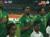 Shafqat Amanat Ali Sings National Anthem - Pak vs India