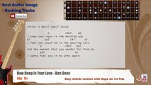 How Deep is Your Love - Bee Gees Bass Backing Track with scale, chords and lyrics