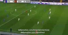 Alessandro Florenzi Fantastic CHANCE - Italy vs Spain