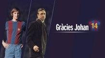 FC Barcelona – Gràcies Johan / Gracias Johan / Tanks Johan