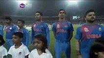 Amitabh Bachchan Sings National Anthem at Kolkata at T20 Cricket Worldcup 2016 - India vs Pakistan - YouTube