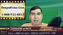Brooklyn Nets vs. Cleveland Cavaliers Free Pick Prediction NBA Pro Basketball Odds Preview 3-24-2016