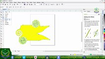 Lecture 2  how to use shape twirl atract repel spear smoot tool in corel draw X7 in hindi urdu