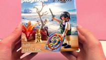 Ile au trésor Playmobil Pirates – Un pirate sorti de l'œuf – Avec une œillère