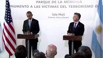 """Hommage d'Obama aux victimes de la dictature: """"plus jamais ça"""""""