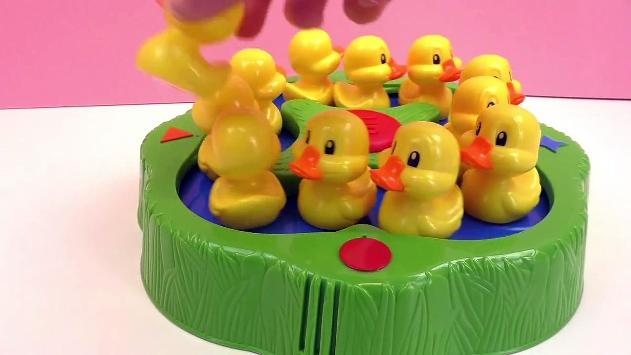 Nous jouons au Lucky Ducks – Qui va récupérer le plus de canetons | MB Games Lucky Ducks