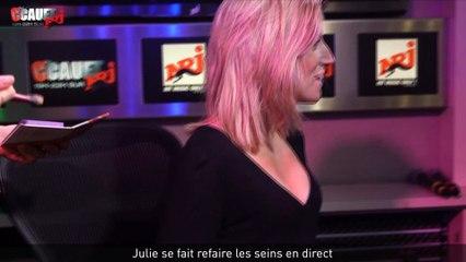 Julie se fait refaire les seins en direct - C'Cauet sur NRJ