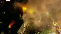 Raw: Fire Destroys Historic Church in New Jersey