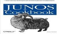 Read JUNOS Cookbook  Cookbooks  O Reilly   Ebook pdf download