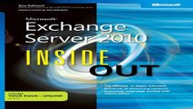Microsoft/® Exchange Server 2010 Inside Out