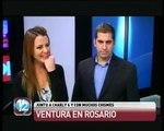 Luis Ventura en Rosario y una sospecha entre Silvina Luna y Diego Forlán