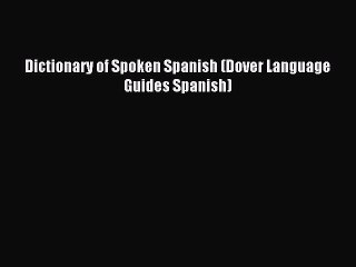 Spanish-English by By United States War Department  b33e73089fd4c