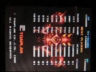 Final Burn Alpha Plus for GP2X runing Truxton II