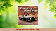 PDF  RollsRoyce Silver Cloud Free Books