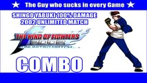The King of Fighters 2002 Unlimited Match: Shingo 100% Combo