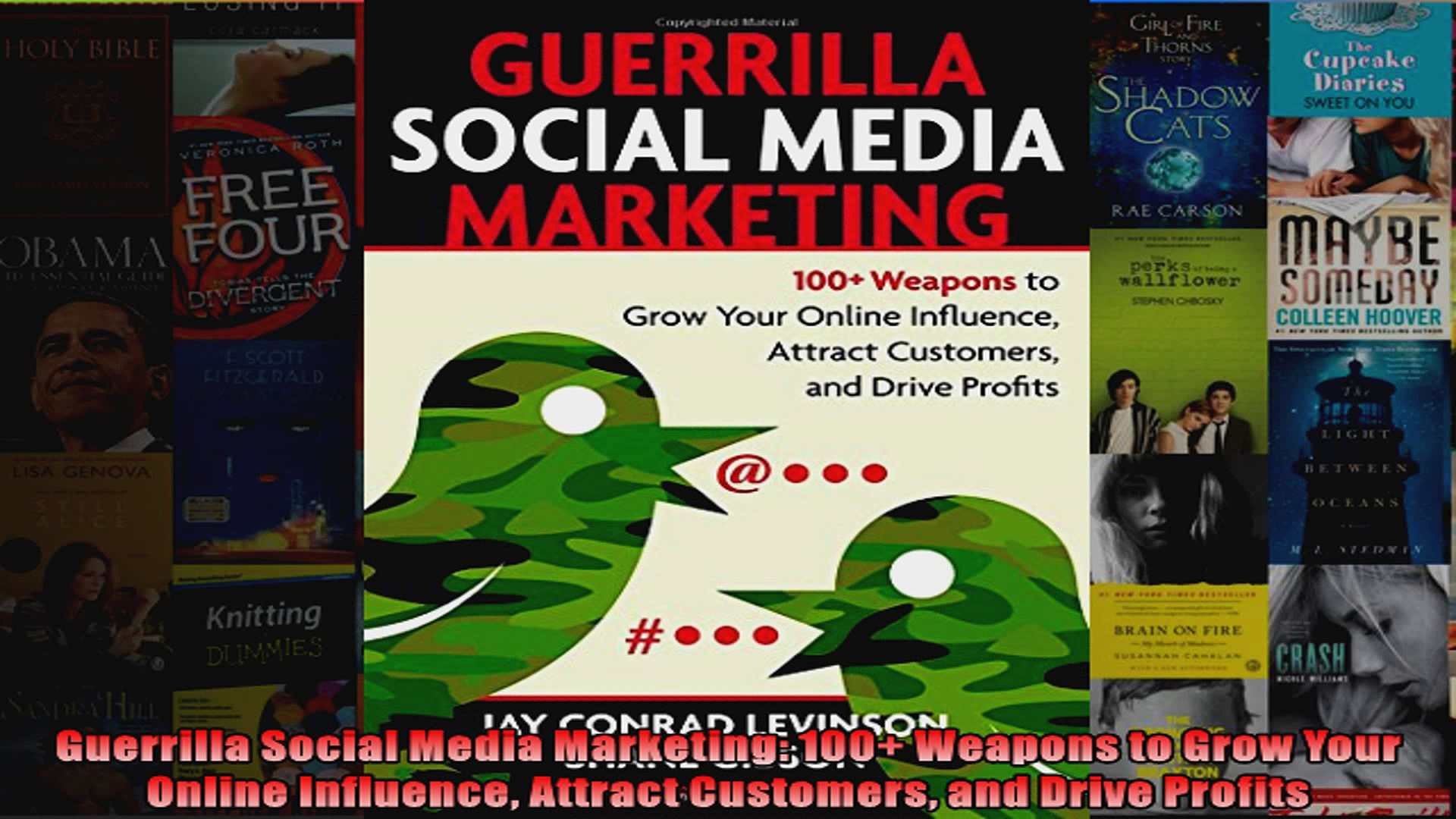 Guerrilla Social Media Marketing 100 Weapons to Grow Your Online Influence Attract