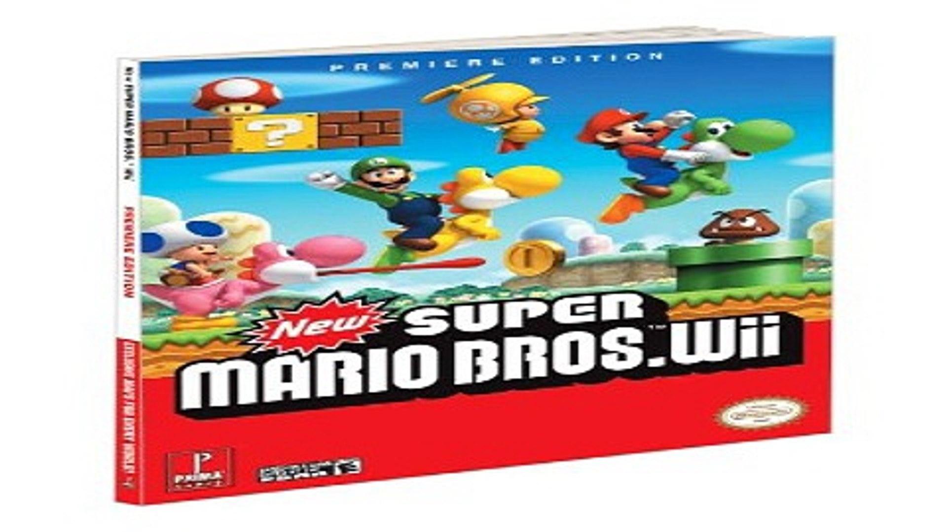 Download New Super Mario Bros Wii Prima Official Game Guide Prima Official  Game Guides