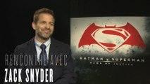 Zack Snyder : interview pour Batman V Superman