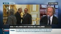 """Le parti pris d'Hervé Gattegno : """"Il n'y a plus que François Hollande pour croire en François Hollande"""" – 25/03"""