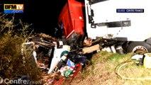 Allier: 12 morts dans une collision entre un minibus et un camion