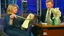 "Conan O'Brien & Martha Stewart ""Ironing Shirts"" 5/9/01"