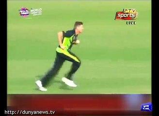 watch Pakistan lose second wicket