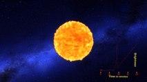 Animation: L'explosion en supernova d'une étoile par la NASA