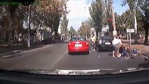 Crazy car crash compilation - 8. Car accidents and collisions. Russian road wars. ДТП