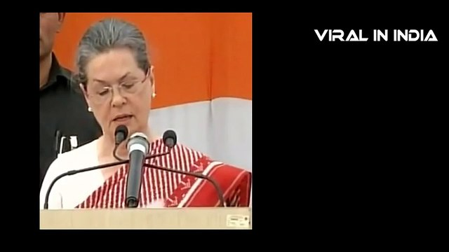 Sonia Gandhi's - Truth Comes Out !