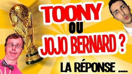Le grand GAGNANT ! Toony VS Jojo Bernard (Partie 2)