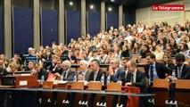 Brest. Concours d'éloquence devant le Garde des Sceaux