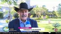 Cesar Evora habla sobre su relación con Victoria Ruffo LasAmazonas
