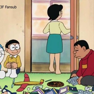 Doraemon Vietsub 2015: Jaian đến nhà ăn chực