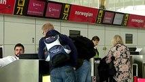 Un avión obligado a regresar al aeropuerto tras chocar con una bandada de gaviotas