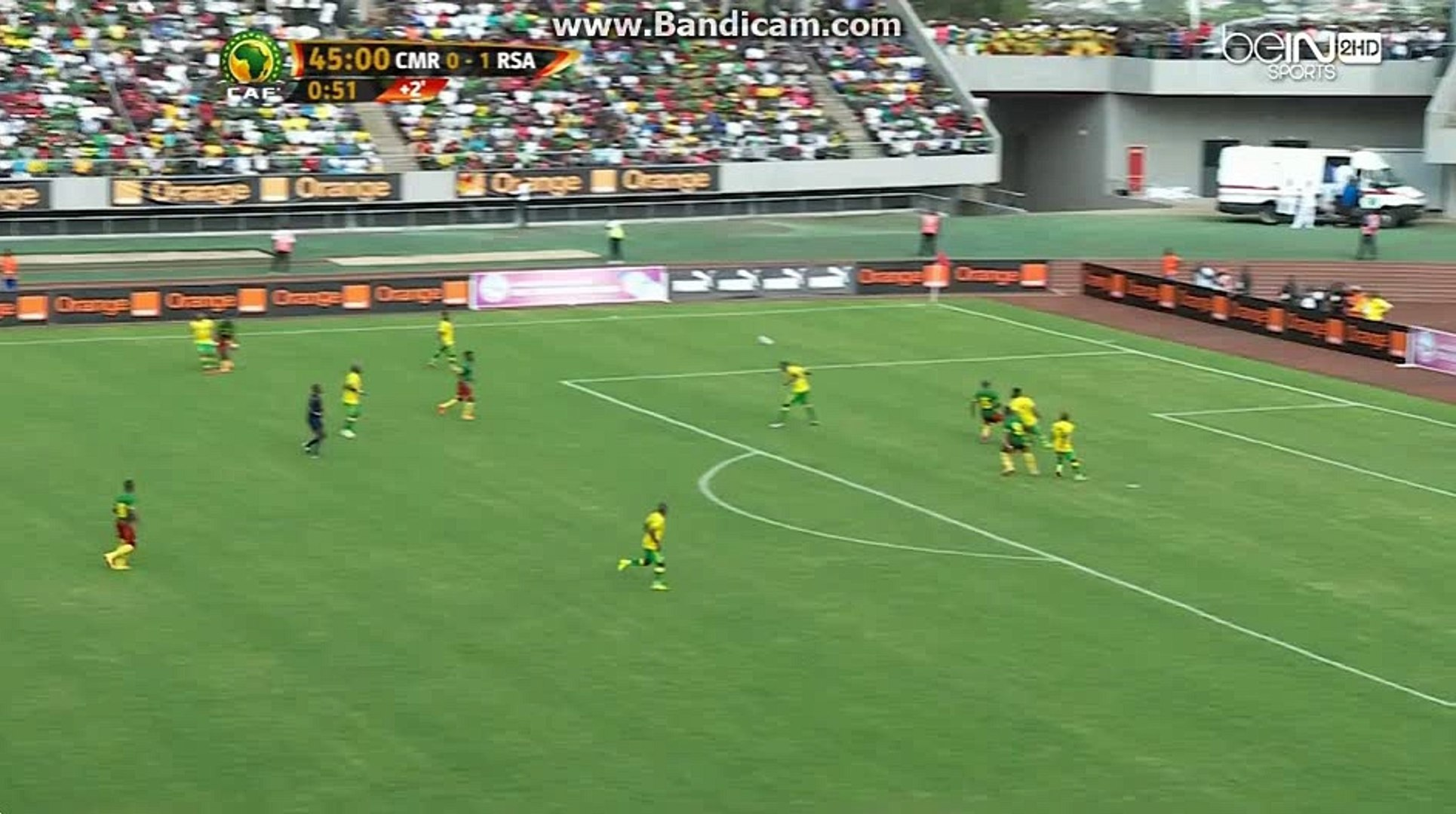 Cameroon vs South Africa Amazing goal   1-1 26.03.2016