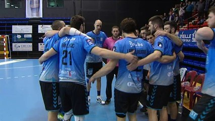 Handball Besançon Pau Billère 25032016