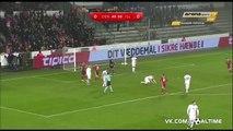 Дания - Исландия 2_1. Товарищеский матч. Обзор матча.