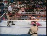 THE ULTIMATE WARRIOR VS. SGT. SLAUGHTER (1991) - WWF WWE Wrestling - Sports MMA Mixed Martial Arts Entertainment