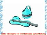 Kettler - Muñequeras con peso (2 unidades) azul azul Talla:1 kg