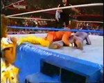 RANDY THE MACHO MAN SAVAGE VS. ONE MAN GANG - WWF WWE Wrestling - Sports MMA Mixed Martial Arts Entertainment