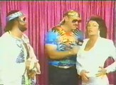 RANDY THE MACHO MAN SAVAGE VS. JIM THE ANVIL NEIDHART - WWF WWE Wrestling - Sports MMA Mixed Martial Arts Entertainment