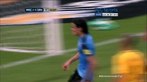 Brasil - Uruguay  2 - 1  gol de Cavani (25.03.2016)