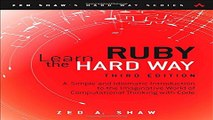 PDF Download] Learn Ruby the Hard Way: A Simple and