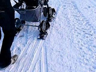ski poussette stroller